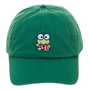 Green Keroppi Hat Baseball Dad Style Relaxed Frog